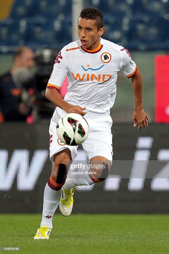 Genoa CFC v AS Roma - Serie A : ニュース写真