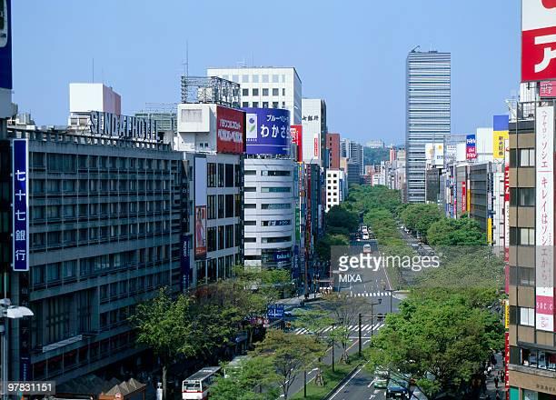Aoba Street, Sendai, Miyagi, Japan