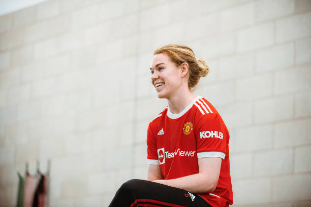 GBR: Manchester United Women Unveil New Signing Aoife Manning