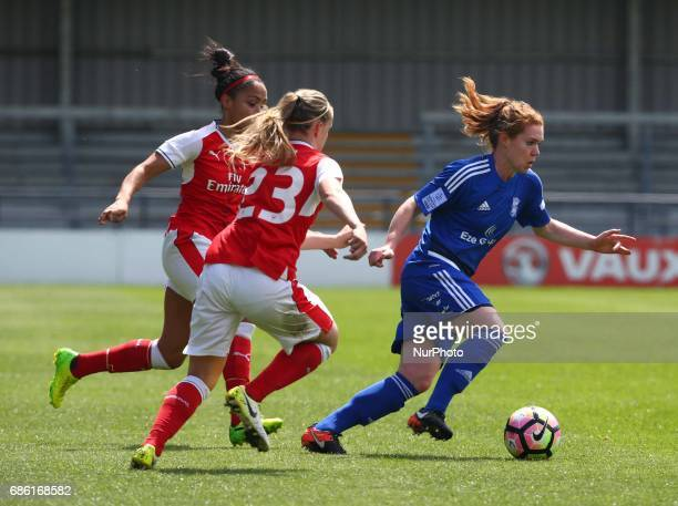 Aoife Mannion of Birmingham City LFC during Women's Super League 1 Spring Series match between Arsenal Ladies against Birmingham City Ladies at The...