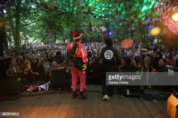 Aoife McElwain's presents Sing Along Social at The Woodlands Stage at Body Soul Festival at Ballinlough Castle on June 25 2017 in Co Westmeath Ireland