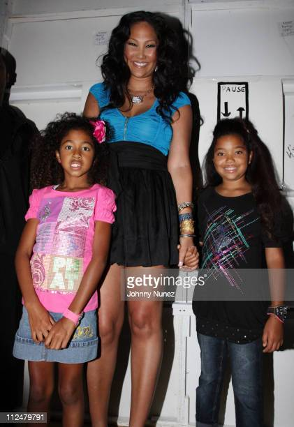 Aoki Lee Simmons Kimora Lee Simmons and Ming Lee Simmons during the Baby Phat KLS Collection Spring 2010 during MercedesBenz Fashion Week at Roseland...
