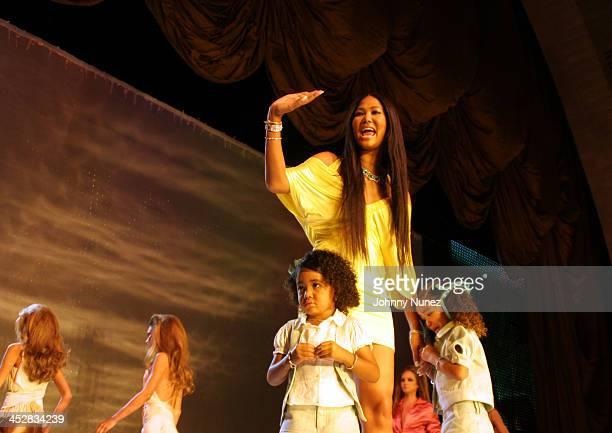 Aoki Lee Simmons Kimora Lee Simmons and Ming Lee Simmons