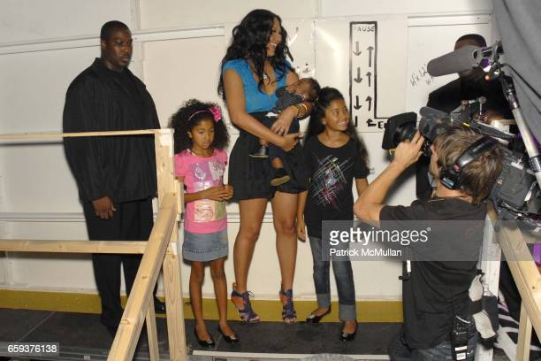 Aoki Lee Simmons Kimora Lee Simmons Kenzo Lee Hounsou and Ming Lee Simmons attend BABY PHAT by Kimora Lee Simmons Spring 2010 Collection at Roseland...