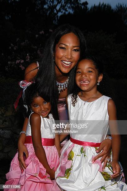 Aoki Lee Simmons Ming Lee Simmons and Kimora Lee Simmons attend ART FOR LIFE benefit for the RUSH PHILANTHROPIC ARTS FOUNDATION hosted by Russell and...