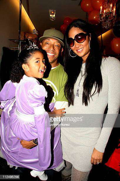 Aoki Lee Simmons Russell Simmons and Kimora Lee Simmons