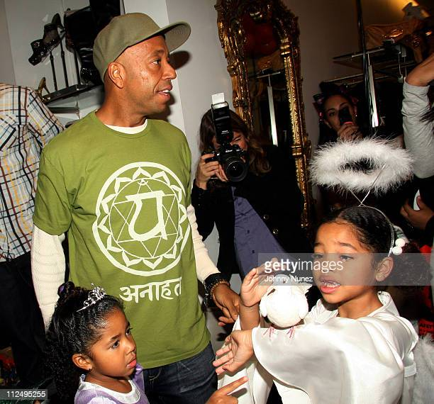 Aoki Lee Simmons Russell Simmons and Ming Lee Simmons