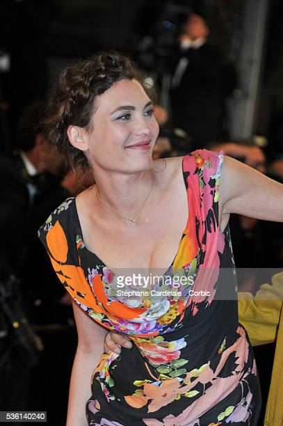 Aomi Muyock attends at the 'Love' Premiere during the 68th Cannes Film Festival