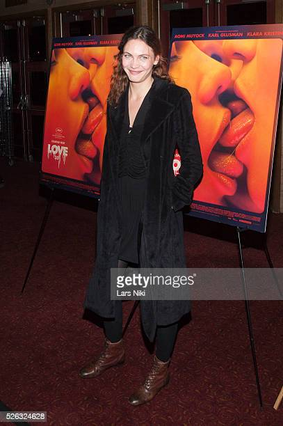 Aomi Muyock attends the Love New York Special Screening at the Village East Cinema in New York City �� LAN