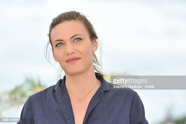 Aomi Muyock attends the Love Photocall during the 68th Cannes Film Festival on May 21 2015 in Cannes France