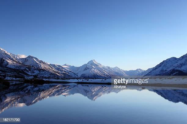 Aoraki Mt Cook reflections