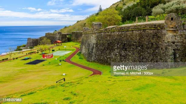 Açores-Terceira-Angra Do Heroísmo-Monte Brasil-Fortress Of São João Baptista