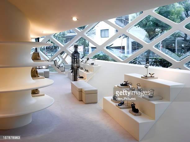 AoyamaJapan Architect Tokyo Prada Store Tokyo Ground Floor