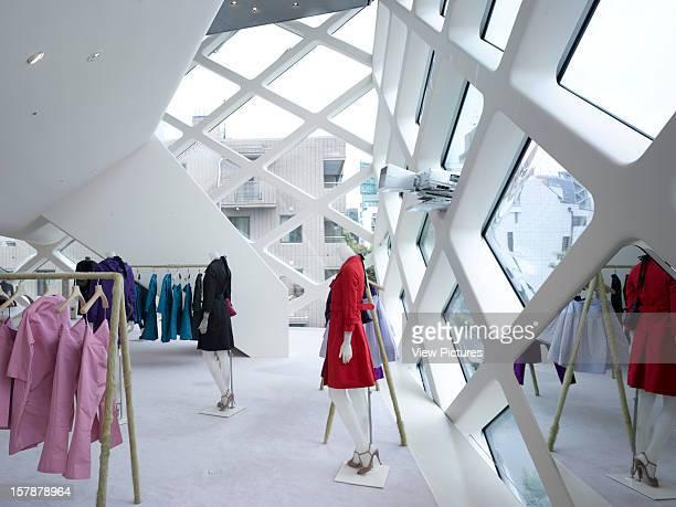 AoyamaJapan Architect Tokyo Prada Store Tokyo Top Floor
