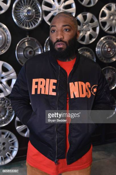 A$ap Bari attends Tupac's Powamekka Cafe and Tupac by Vlone store opening on April 7 2017 in New York City