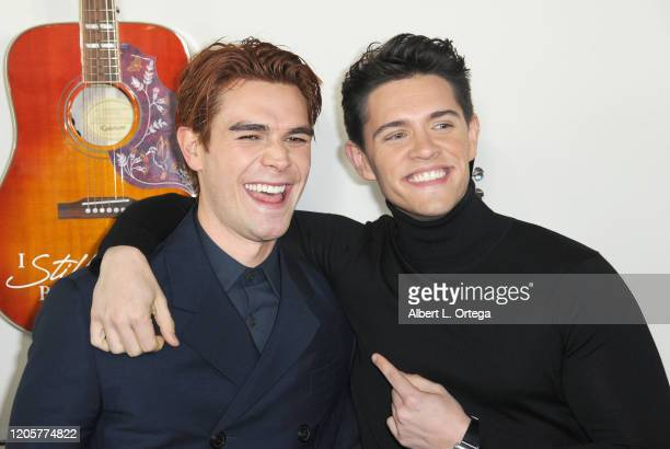 Apa and Casey Cott arrive for the Premiere Of Lionsgate's I Still Believe held at ArcLight Hollywood on March 7 2020 in Hollywood California