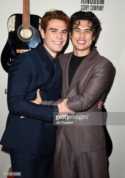 """Apa and Charles Melton attend the premiere of Lionsgate's """"I Still Believe"""" at ArcLight Hollywood on March 07, 2020 in Hollywood, California."""