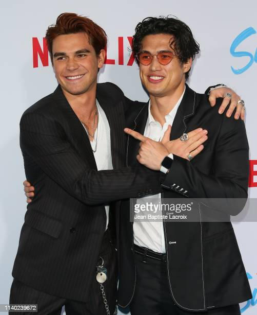 Apa and Charles Melton attend the special screening of Netflix's The Last Summer at TCL Chinese Theatre on April 29 2019 in Hollywood California