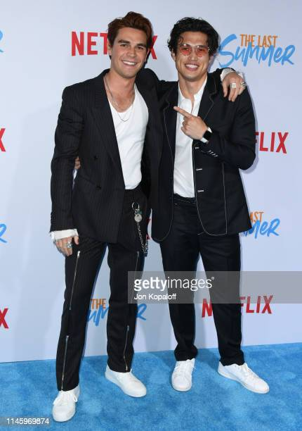"""Apa and Charles Melton attend the Special Screening Of Netflix's """"The Last Summer"""" at TCL Chinese Theatre on April 29, 2019 in Hollywood, California."""