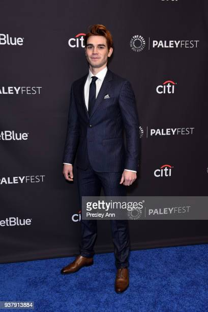 Apa attends PaleyFest Los Angeles 2018 'Riverdale' at Dolby Theatre on March 25 2018 in Hollywood California