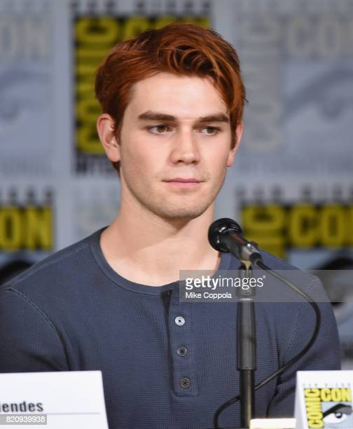 Apa attends 'Riverdale' special video presentation and QA during ComicCon International 2017 at San Diego Convention Center on July 22 2017 in San...