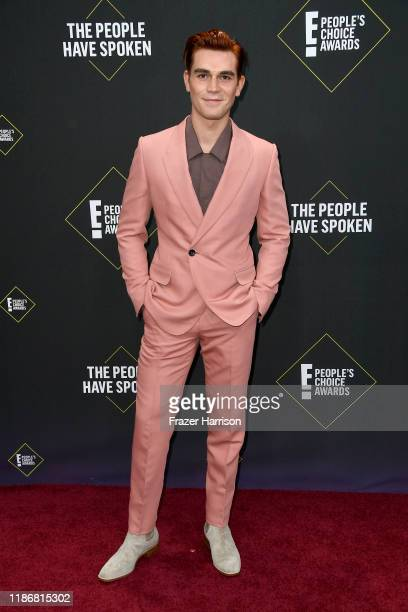 Apa attends the 2019 E People's Choice Awards at Barker Hangar on November 10 2019 in Santa Monica California
