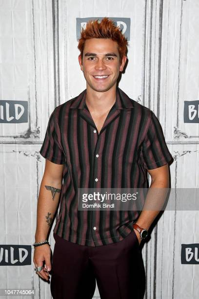 K J Apa attends the Build Series to discuss Riverdale at Build Studio on October 8 2018 in New York City