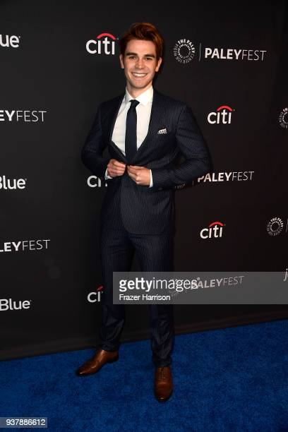 Apa attends The Paley Center For Media's 35th Annual PaleyFest Los Angeles Riverdale at Dolby Theatre on March 25 2018 in Hollywood California