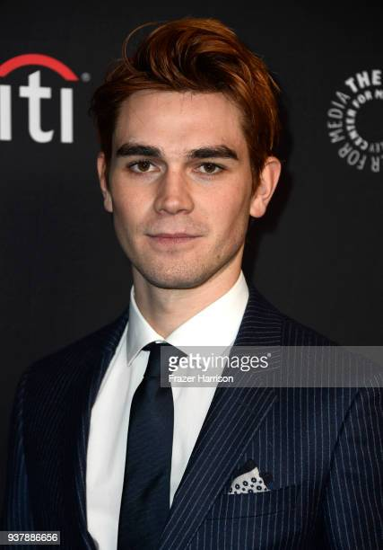 """Apa attends The Paley Center For Media's 35th Annual PaleyFest Los Angeles - """"Riverdale"""" at Dolby Theatre on March 25, 2018 in Hollywood, California."""