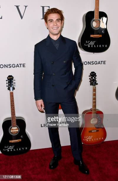 J Apa attends the Premiere Of Lionsgate's I Still Believe at ArcLight Hollywood on March 07 2020 in Hollywood California