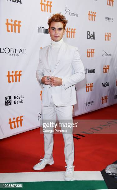 Apa attends the 'The Hate U Give' premiere during 2018 Toronto International Film Festival at Roy Thomson Hall on September 7 2018 in Toronto Canada