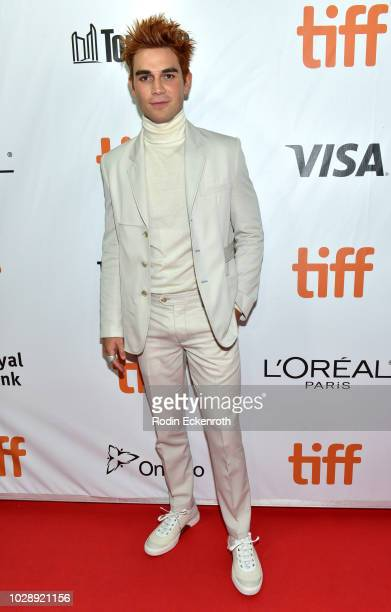 Apa attends the The Hate U Give premiere during 2018 Toronto International Film Festival at Roy Thomson Hall on September 7 2018 in Toronto Canada