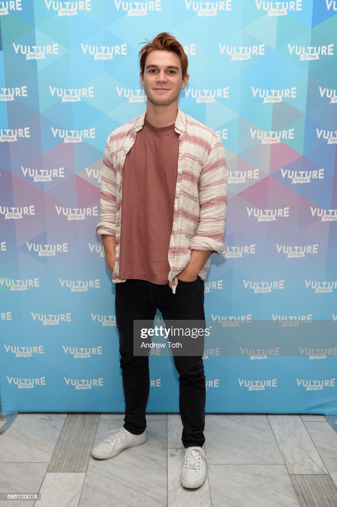KJ Apa of Riverdale series attends the Vulture Festival at The Standard High Line on May 20, 2017 in New York City.