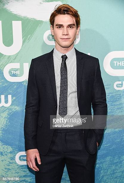 Apa of the series 'Riverdale' attends The CW Network's 2016 New York Upfront at The London Hotel on May 19 2016 in New York City