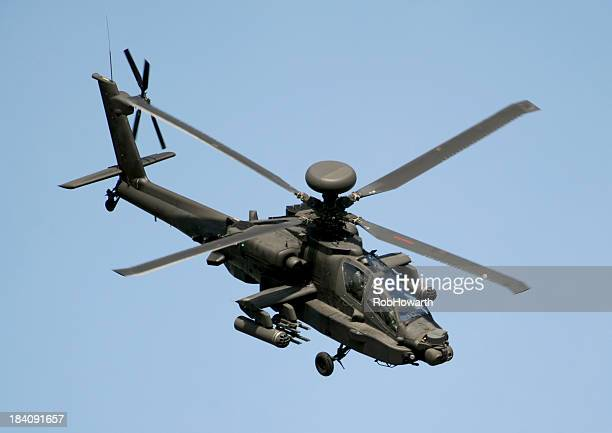 apache ah mk1 - apache helicopter stock pictures, royalty-free photos & images