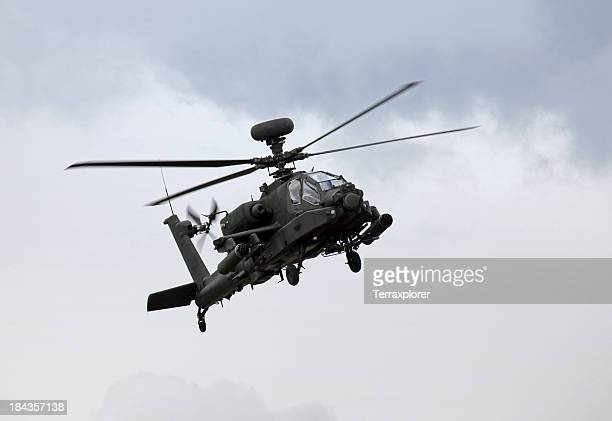 ah-64d apache helicopter - apache helicopter stock pictures, royalty-free photos & images