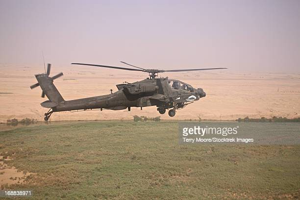 AH-64D Apache Longbow on a mission over Northern Iraq.