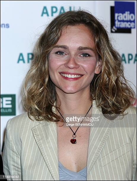 Apajh Night At Congress Palace In Paris France On March 16 2007 Claire Borotra
