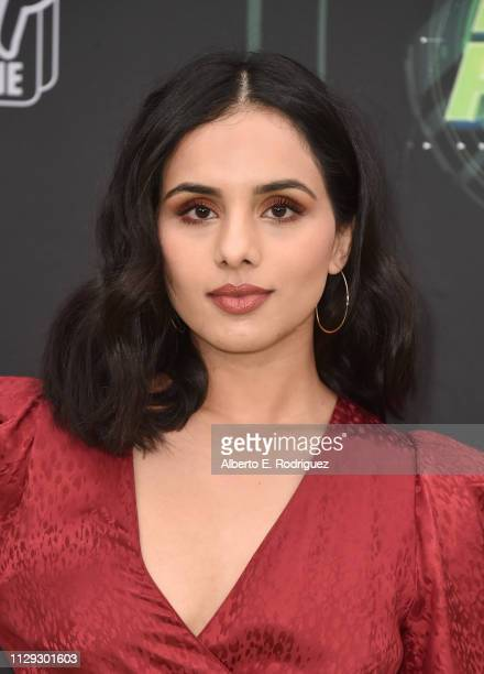 Aparna Brielle attends the premiere of Disney Channel's Kim Possible at The Television Academy on February 12 2019 in Los Angeles California