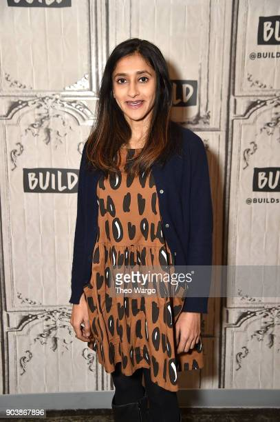 Aparna Nancherla attends Build Series to discuss the show 'Corporate' at Build Studio on January 11 2018 in New York City