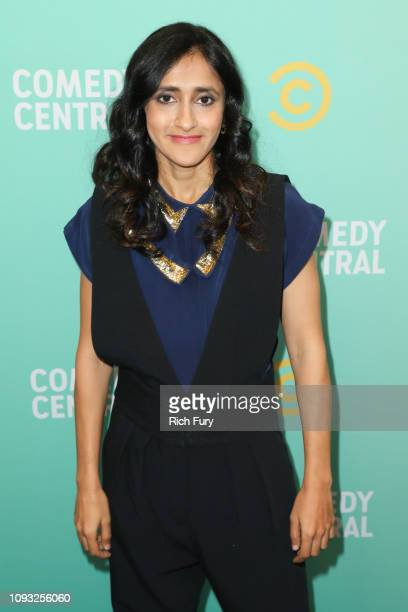 Aparna Nancherla attends the Comedy Central press day at Viacom Building on January 11 2019 in Los Angeles California