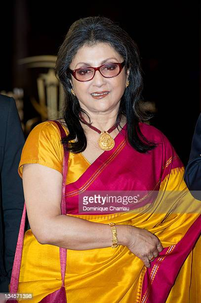 Aparna Sen attends the Marrakech International Film Festival 2011 Opening Ceremony on December 2 2011 in Marrakech Morocco