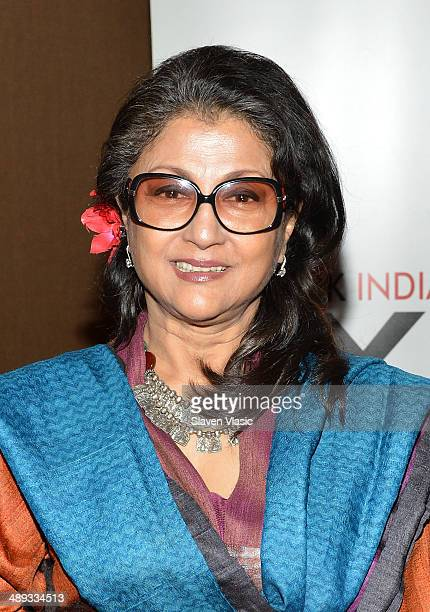 Aparna Sen director of 'Goynar Baksho' attends the 2014 NYIFF Closing Night Screening Of 'Goynar Baksho' at NYU Skirball Center on May 10 2014 in New...