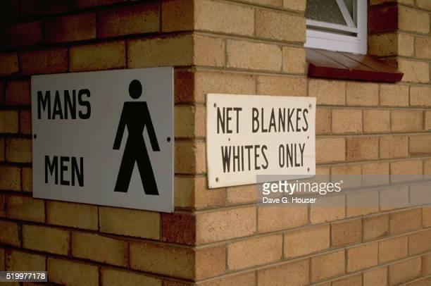 Apartheid Restroom
