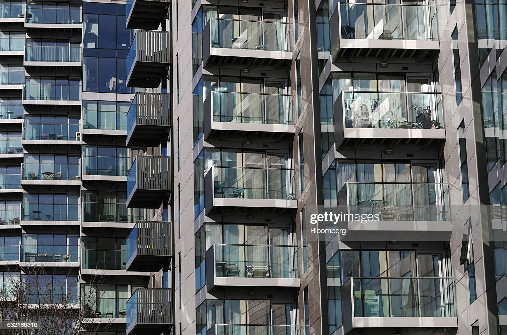 Apartment Balconies Stand Out At The Berkeley Group Holdings Plc Foto Jornalistica Getty Images