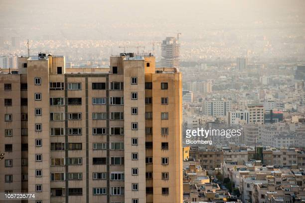 Apartment blocks stand in Tehran Iran on Saturday Nov 3 2018 Irans Supreme Leader Ayatollah Khamenei said US President Donald Trumps policies are...