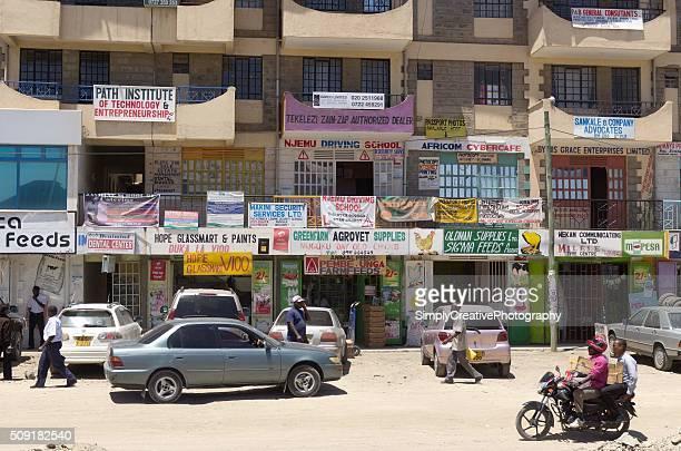 Apartment Building Near Slum in Nairobi