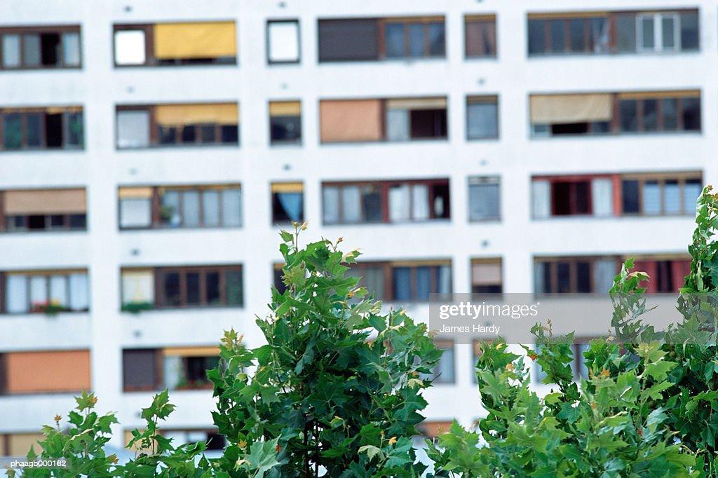 Apartment building : Stockfoto