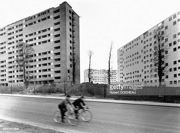 Apartment buildings in Fresnes ValdeMarne France