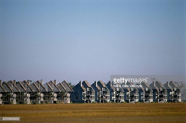 Apartment Buildings Under Blue Sky